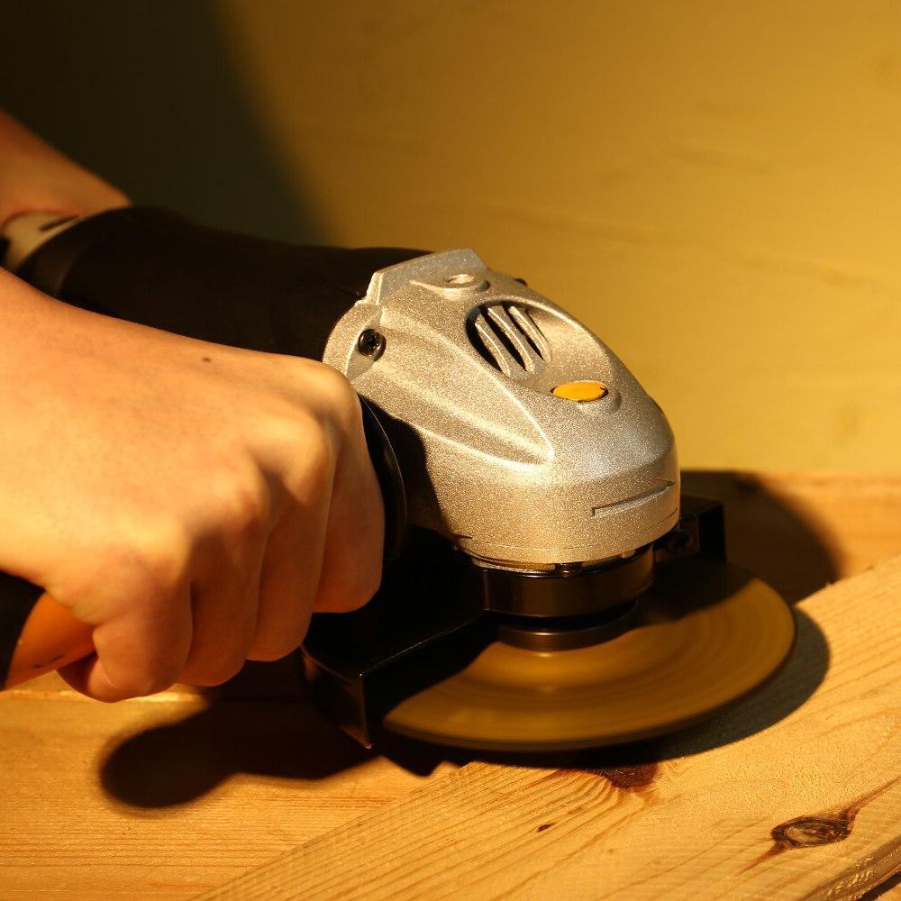 DEKO DKAG25LD1/DKAG25LD2 <font><b>Electric</b></font> <font><b>Grinder</b></font> Grinding Machine Speed Wood/Metal Cutting