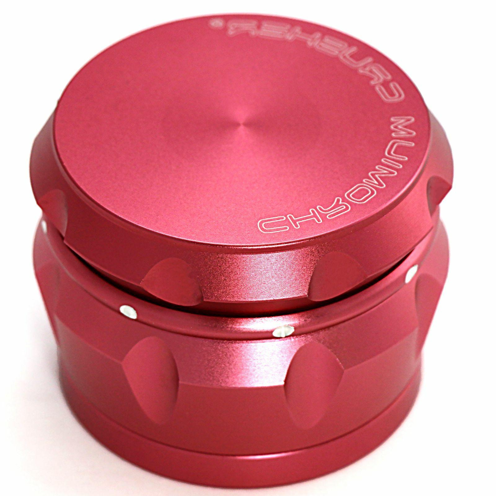 Chromium Crusher Inch Piece Tobacco Spice Grinder Passion Pink