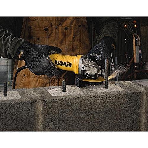 Dewalt DWE402 4-1/2 11 Paddle Angle Grinder