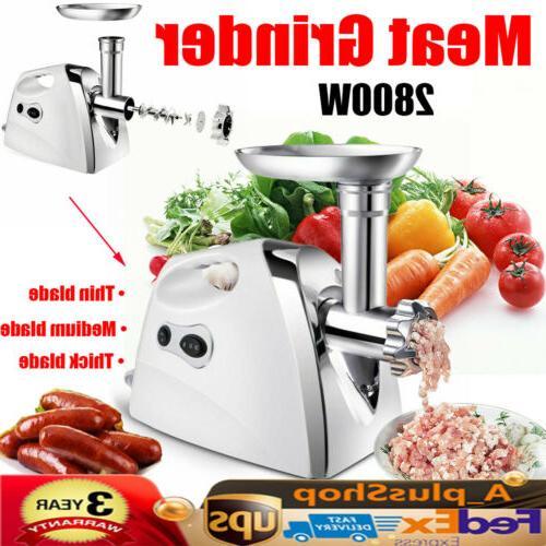 electric meat grinder commercial sausage filler stuffer