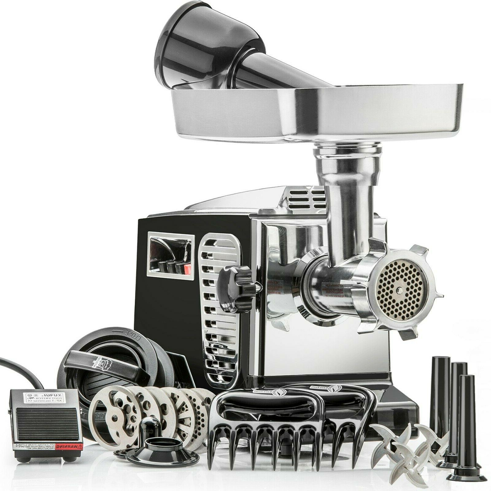 electric meat grinder stx turboforce ii 4000