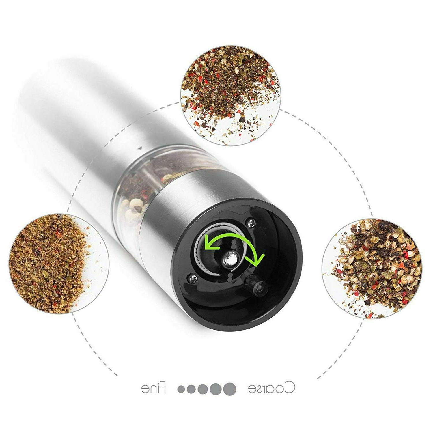 Electric Pepper Stainless Spice Seasoning