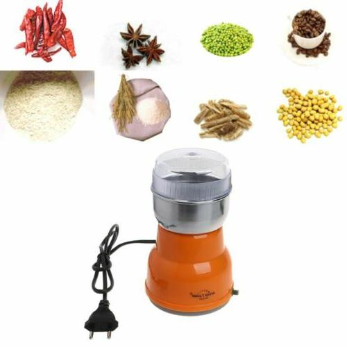 Electric Bean Grinder Machine Kitchen