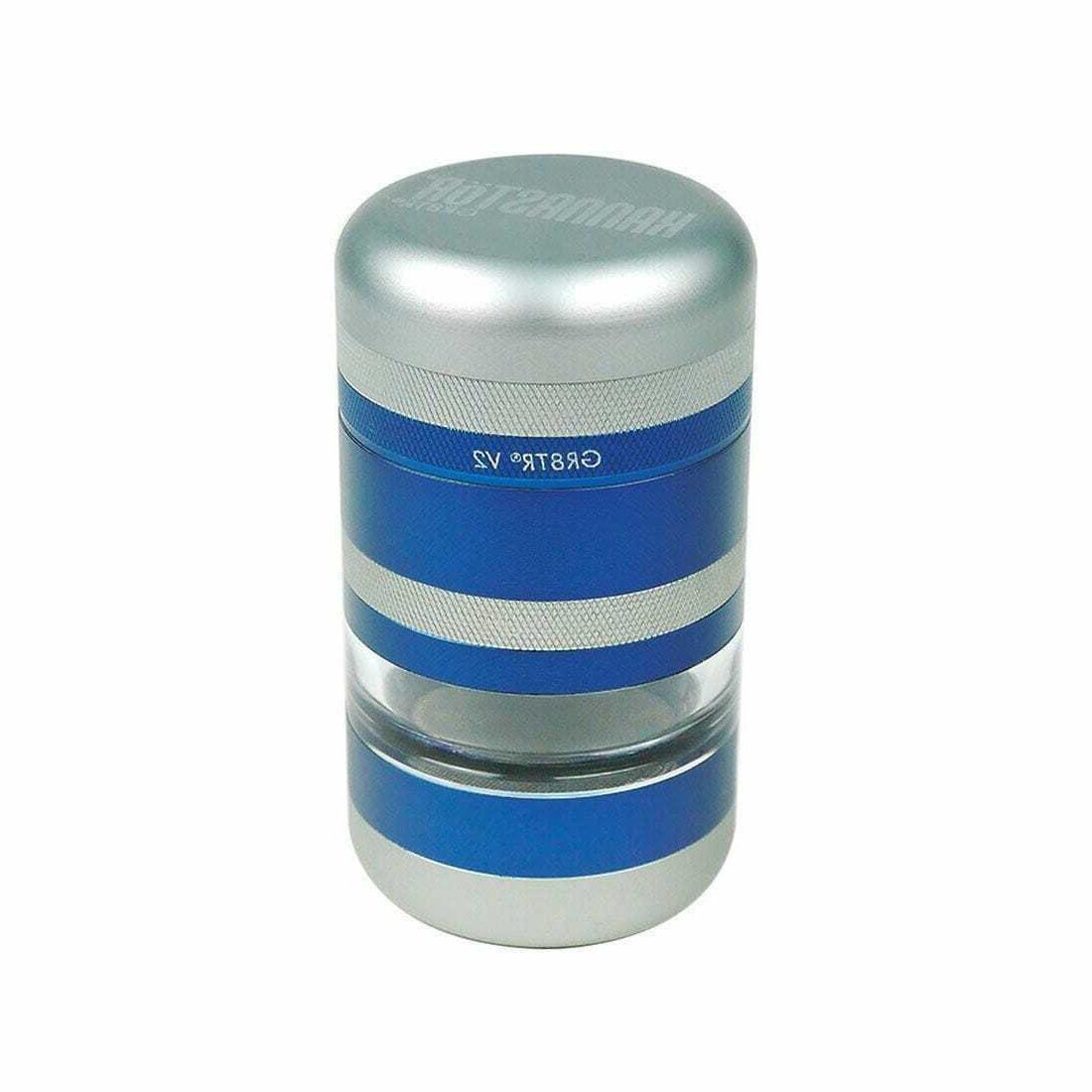 gr8tr v2 blue grinder jar body easy