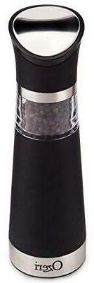 Ozeri Graviti Pro Electric Pepper Mill and Grinder, BPA-Free