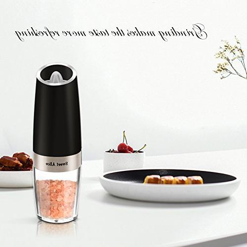 Gravity Grinder, Seasoning Shaker, Powered, Grind