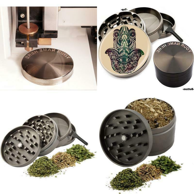 hamsa design large size zinc grinder