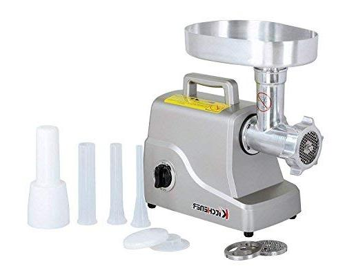 Kitchener Meat , 3-speed with Stainless Grinding and Stainless Steel Plate