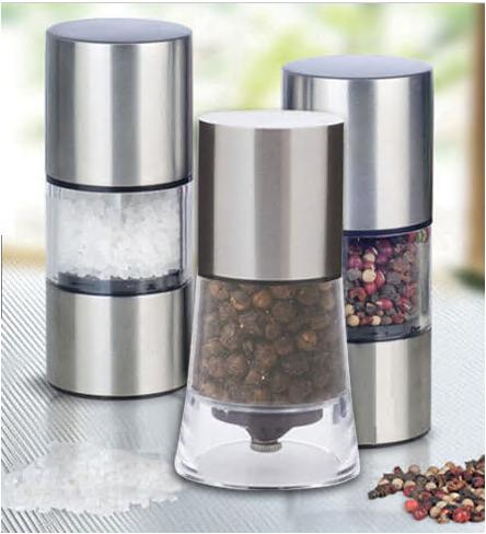 home kitchen tool stainless steel manual salt