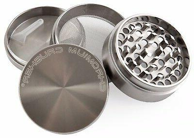 Chromium 4 Herb Grinder Metal