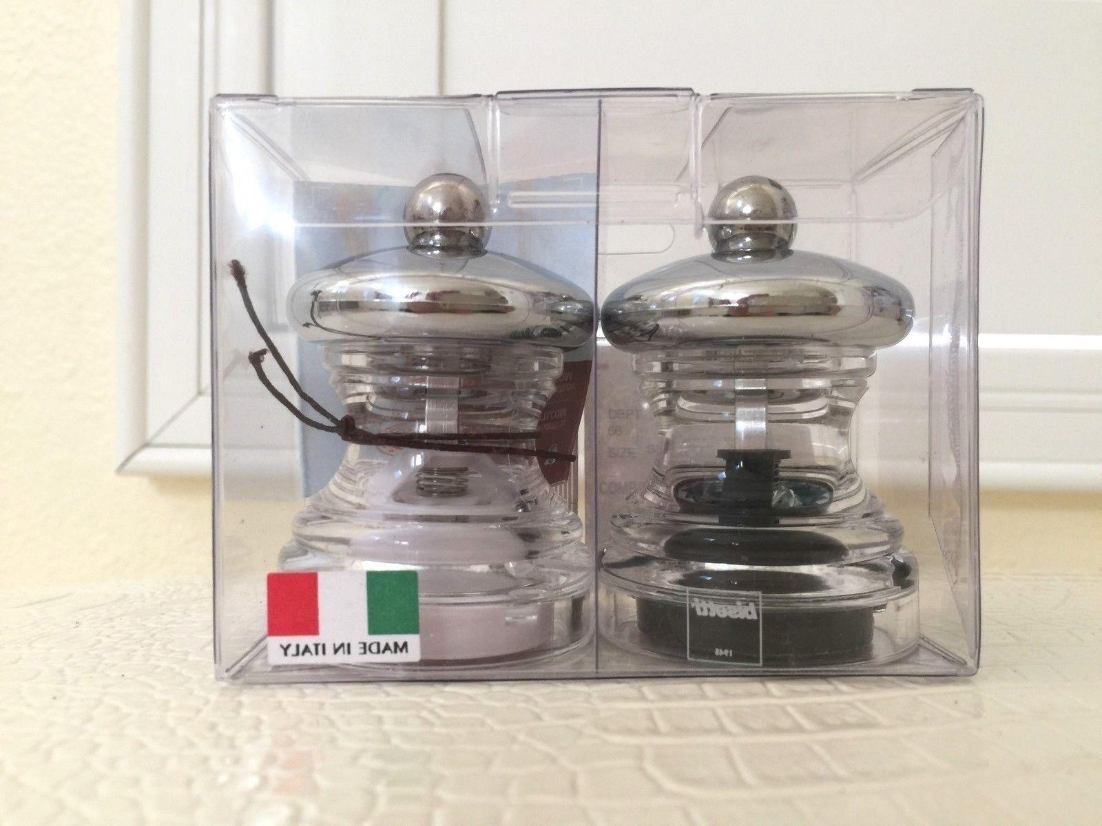 italy pepper and salt set single mill