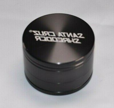 "Large 2.75"" Gunmetal 3 CRUZ SHREDDER Glossy Finish"