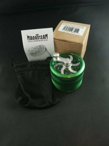 Masterdam Rolling Supplies Large Herb Green