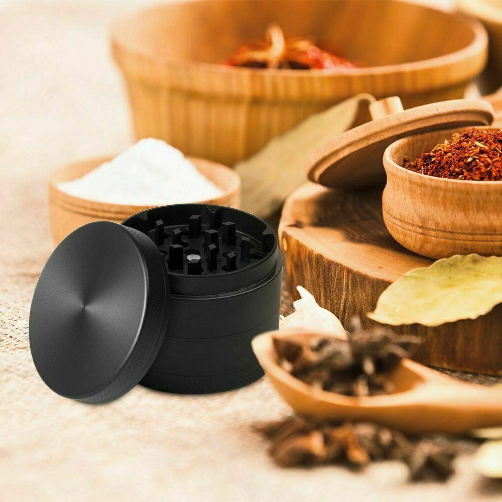 """Large Spice Cannabis Tobacco Herbs Weed Grinder 3 Chambers"