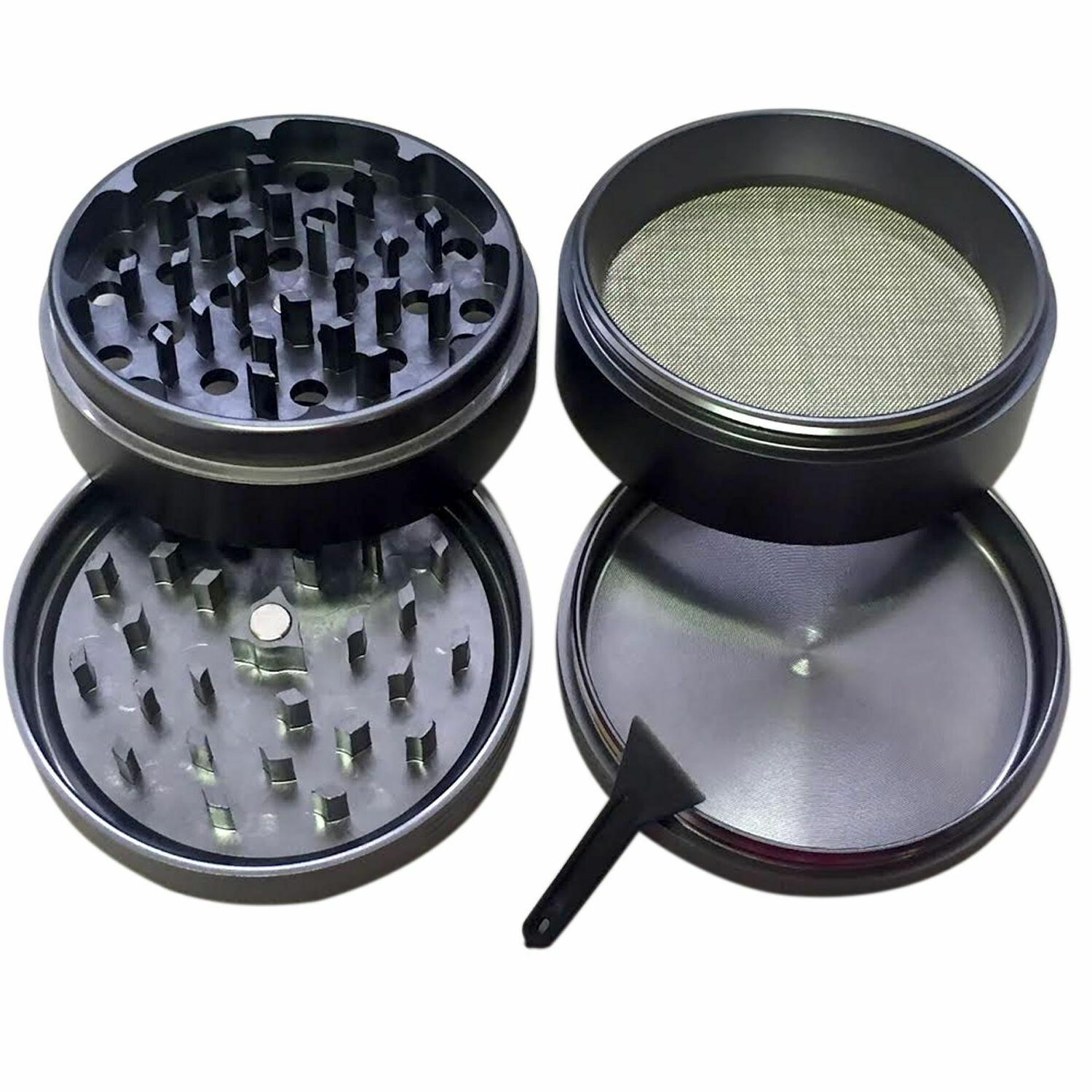 4 Inch Herb Grinder Spice With Scoop