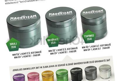 Masterdam 4-Piece Herb Grinders ,