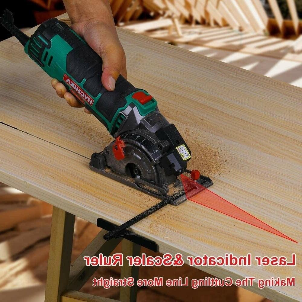 HYCHIKA Circular Saw Laser Held Grinder Cutting Kit