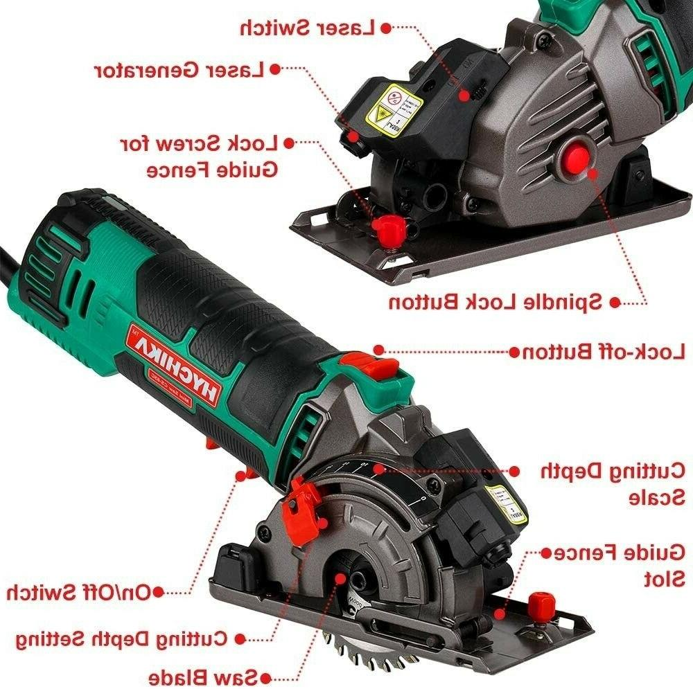 "HYCHIKA Laser Cutting Tool Kit 3-3/8""4500RPM"