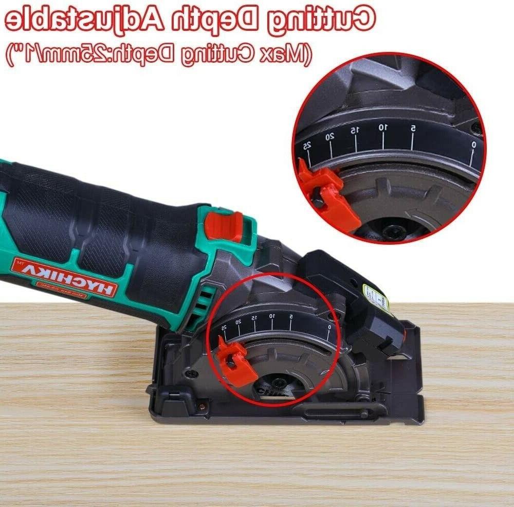 "HYCHIKA Mini Circular Cutting Tool 3-3/8""4500RPM"
