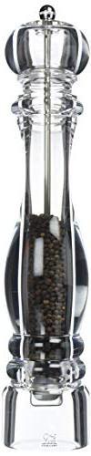 Peugeot Nancy Acrylic Pepper Mill, 38cm/15-Inch, Clear