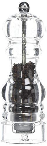 Peugeot Nancy Pepper Mill, Timut Pepper Mill, Acrylic, Trans