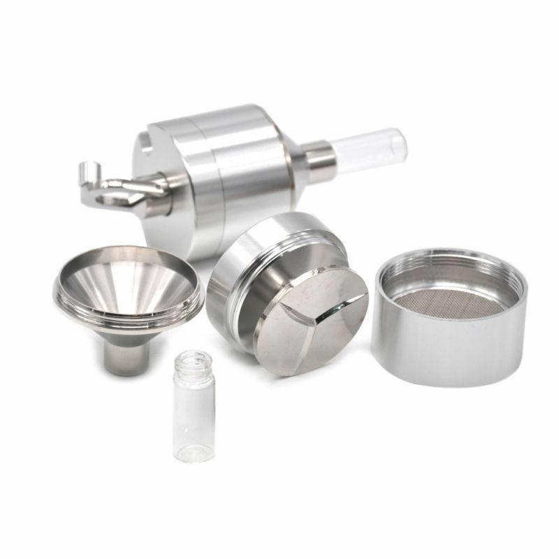 powder grinder 3 pc metal spice hand