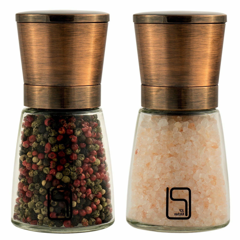premium salt and pepper grinder set best