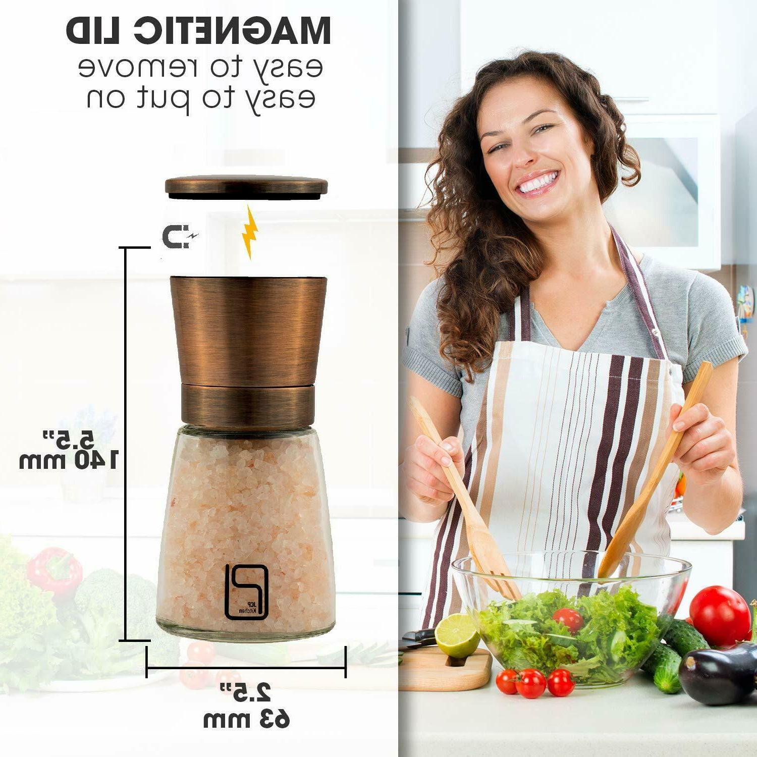 Premium Salt and Grinder Copper Mill for Home