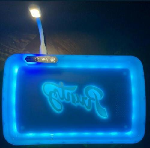 rechargeable strobe led blue runtz rolling glow
