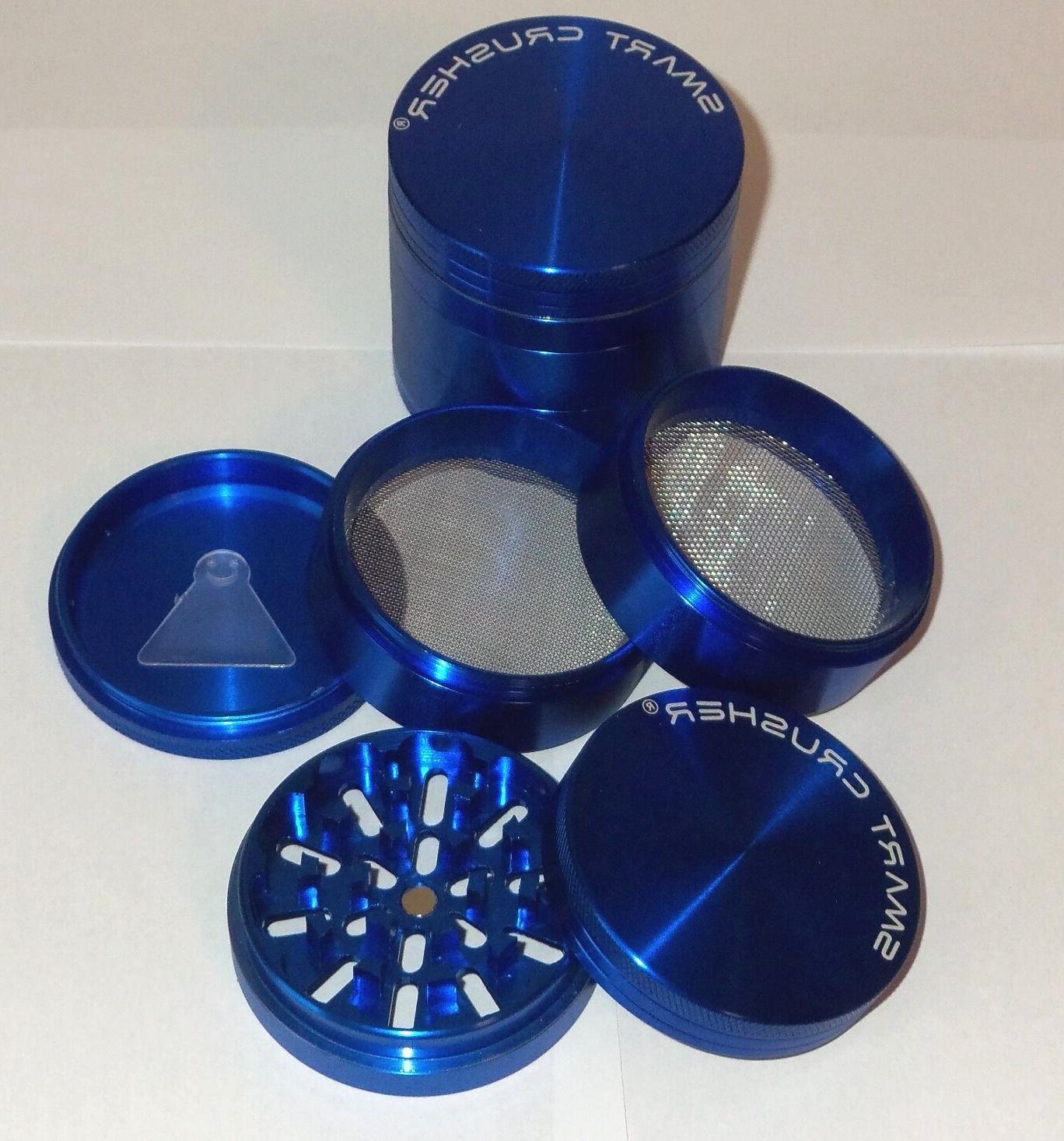 smart crusher large blue 5 piece titanium