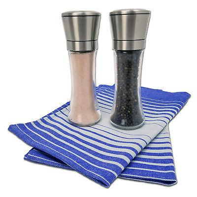 Stainless Steel and Pepper Set 2