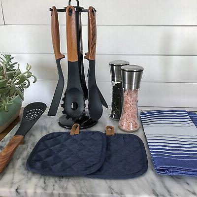Stainless Salt and 2 2 Towels