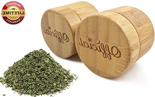 2 Gram Weed Bamboo Stash Smell Container With Airtight Seal Pocket Travel