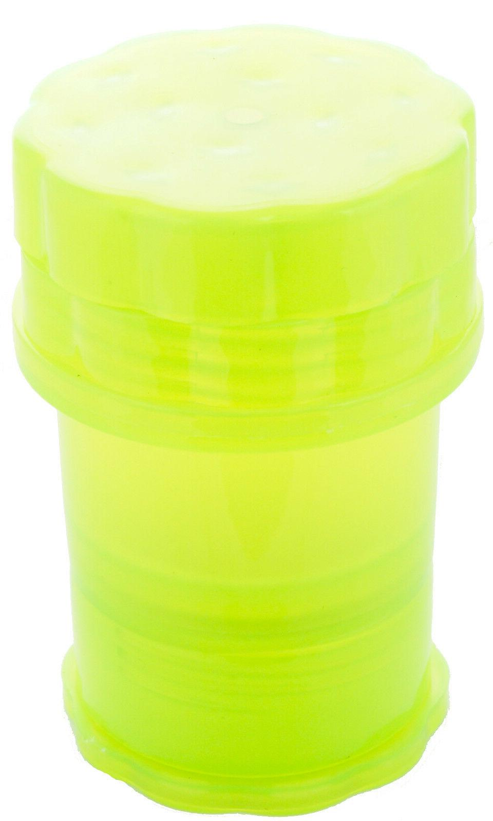 GRINDER herb saver container medtainer *HIGH QUALITY* # larg
