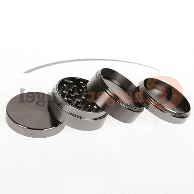 Tobacco Grinder Herbal Piece Chromium