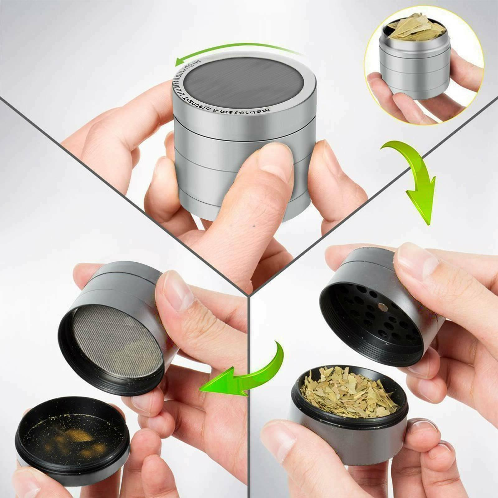 Tobacco Herbal Crusher 4 Chromium