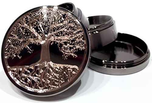 Titanium Grinder Piece with Original 63mm - Gift Box