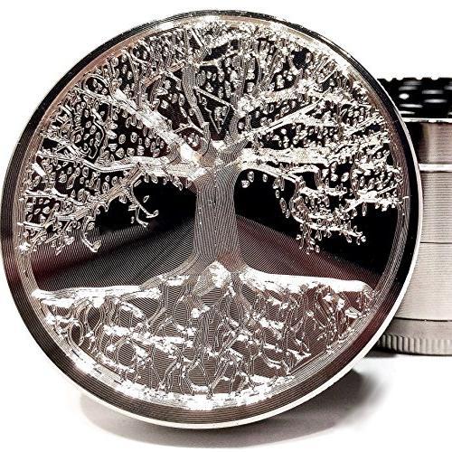 tree life etched titanium