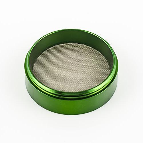 Golden Inch Herb 4-piece Anodized Aluminum