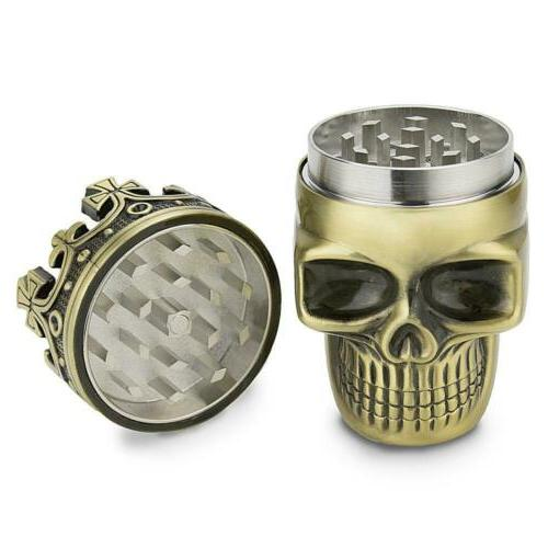 Golden Metal Grinder