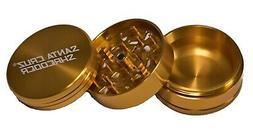 large 2 75 gold 3 piece grinder