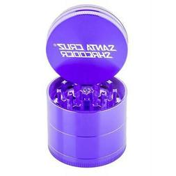 "Large 2.75"" Purple Santa Cruz Shredder Aluminum Herb Grinder"