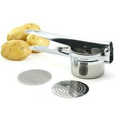 Large Sturdy Potato Ricer Disks Potatoes Masher Grinder Kitc