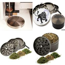 Leo Zodiac Design Large Size Zinc Grinder With Your Name Fre