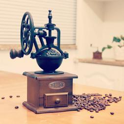 Manual Coffee Grinder Antique Cast Iron Hand Crank Coffee Mi