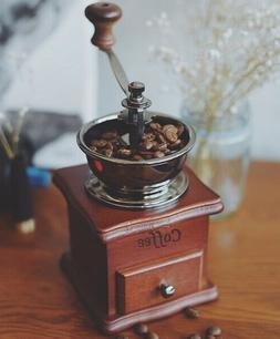 Manual Coffee Grinder, Coffee Bean Grinder, Vintage Antique