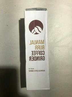 JavaPresse Manual Coffee Grinder Conical Burr Mill Brushed S