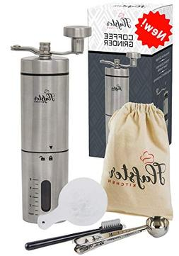 Manual Coffee Grinder- Hand Conical Coffee Bean Grinder With