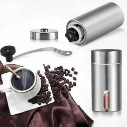 Manual Coffee Grinder Stainless Steel Hand Crank Conical Bur