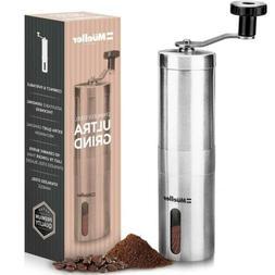 Mueller Austria Manual Coffee Grinder, Whole Bean Conical Bu